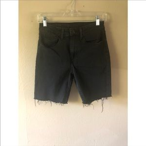 Levi's High Rise Cutoff Shorts - Can Be Rolled Up